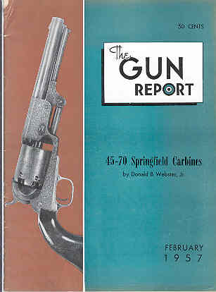 Image for The Gun Report Volume II No 9 February 1957