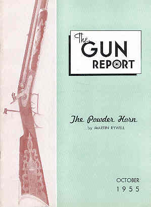 Image for The Gun Report Volume I No 5 October 1955