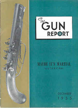 Image for The Gun Report Volume I No 7 December 1955