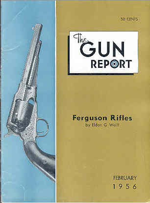 Image for The Gun Report Volume I No 9 February 1956