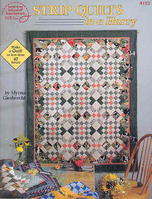 Image for Strip Quilts in a Hurry