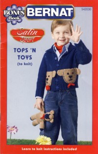Image for Bernat Satin Sport Tops 'N Toys Booklet No. 542030