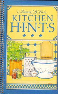 Image for Miriam B Loo's Kitchen Hints
