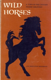 Image for Wild Horses: A Turn-Of-The-Century Prairie Girlhood
