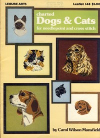 Image for Charted Dogs & Cats for Needlepoint and Cross Stitch