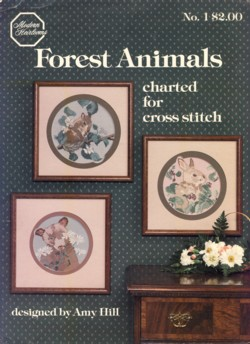 Image for Forest Animals Charted for Cross Stitch No. 1