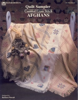 Image for Quilt Sampler Counted Cross Stitch Afghans CB115