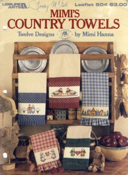 Image for Mimi's Country Towels Leaflet 504