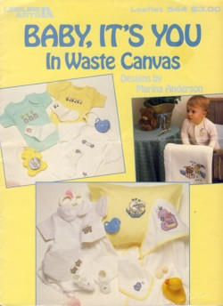 Image for Baby, It's You in Waste Canvas Leaflet 544