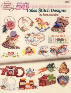 Image for 50 Cross Stitch Designs Booklet 3555