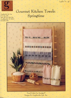Image for Gourmet Kitchen Towels Springtime Leaflet No. 48