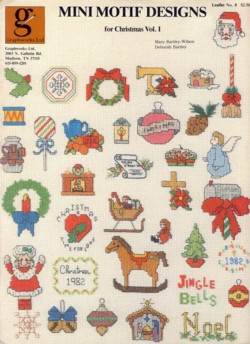 Image for Mini Motif Designs for Christmas Vol. I Leaflet 8