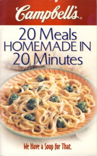 Image for 20 Meals Homemade in 20 Minutes