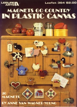 Image for Magnets Go Country in Plastic Canvas Leaflet 364