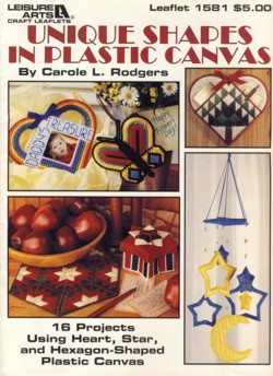 Image for Unique Shapes in Plastic Canvas Leaflet 1581