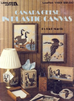 Image for Canada Geese in Plastic Canvas Leaflet 1183