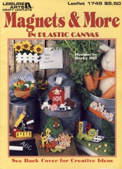 Image for Magnets & More in Plastic Canvas Leaflet 1745