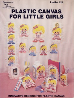 Image for Plastic Canvas for Little Girls Leaflet 120