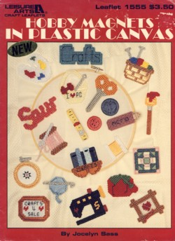Image for Hobby Magnets in Plastic Canvas Leaflet 1555