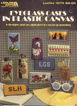 Image for Eyeglass Cases in Plastic Canvas Leaflet 1073