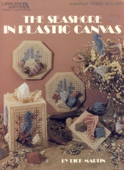 Image for The Seashore in Plastic Canvas Leaflet 1180