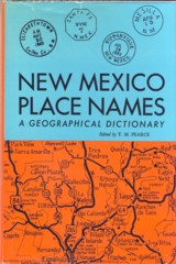 Image for New Mexico Place Names A Geographical Dictionary