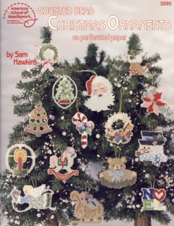 Image for Counted Bead Christmas Ornaments on Perforated Paper Book 3595