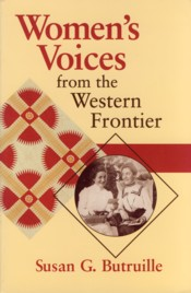 Image for Women's Voices from the Western Frontier