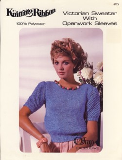 Image for Victorian Sweater With Openwork Sleeves