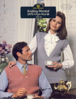 Image for His and Hers Knit Vests 5970-04