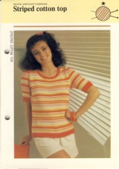 Image for Striped Cotton Top