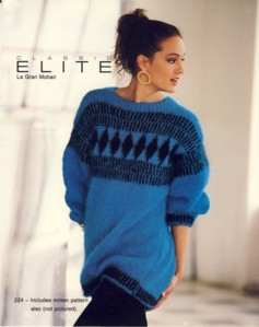 Image for Fair Isle Mohair Pullover and Mittens Style 224