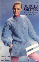 Image for XL Rated Sweaters Book No. 275