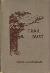 Image for Trail Dust A Little Round-Up of Western Verse
