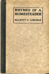 Image for Rhymes of Homesteader
