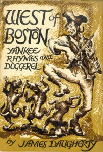 Image for West of Boston Yankee Rhymes and Doggerel