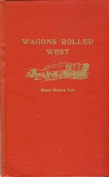 Image for Wagons Rolled West and Other Poems