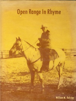 Image for Open Range in Rhyme