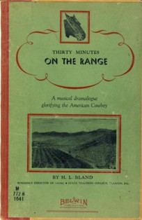 Image for Thirty Minutes on the Range