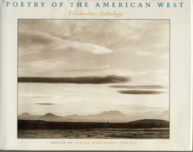 Image for Poetry of the American West: A Columbia Anthology