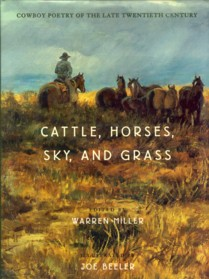 Image for Cattle, Horses, Sky, and Grass: Cowboy Poetry of the Late Twentieth Century