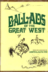 Image for Ballads of the Great West