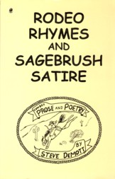 Image for Rodeo Rhymes and Sagebrush Satire: Cowboy Prose and Poetry