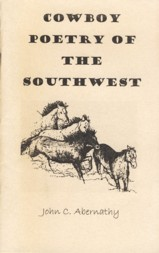 Image for Cowboy Poetry of the Southwest