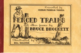 Image for Fenced Trails and Other Poems By Bruce Brockett