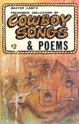 Image for Baxter Lane's Treasured Collection of Cowboy Songs & Poems