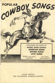 Image for Popular Cowboy Songs