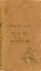 Image for Songs and Poems of the Old West By An Old Cowboy