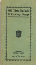 Image for Old Time Ballads & Cowboy Songs