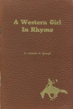 Image for A Western Girl in Rhyme